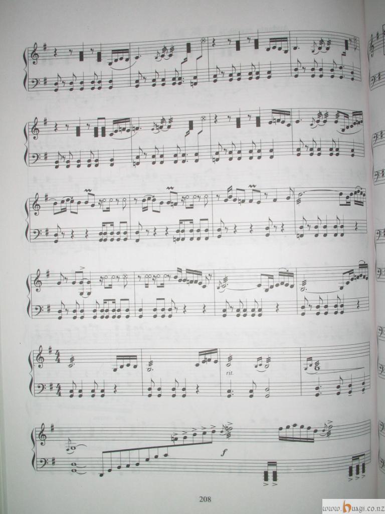 我的未来式只有我做主古筝乐谱